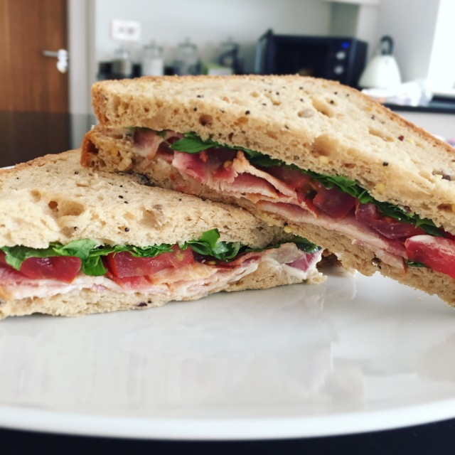 Marks & Spencer gluten free sandwich